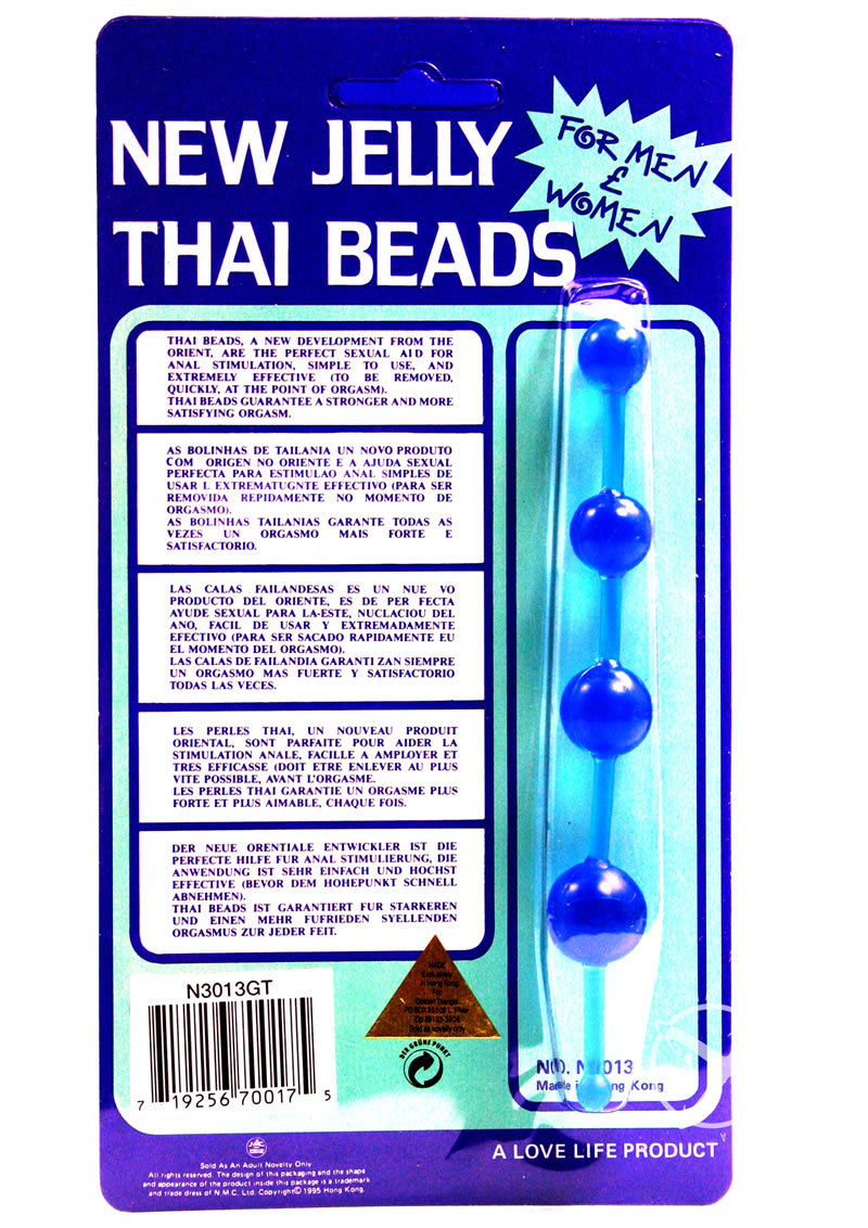 thai flagga jelly dildo